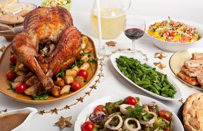 какие блюда на столе на рождество который волнует душу