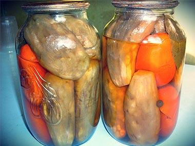 рецепт салата нежинский из огурцов и помидоров