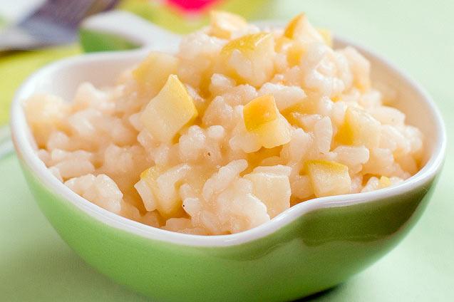 Рисовая каша с яблоками рецепт с фото