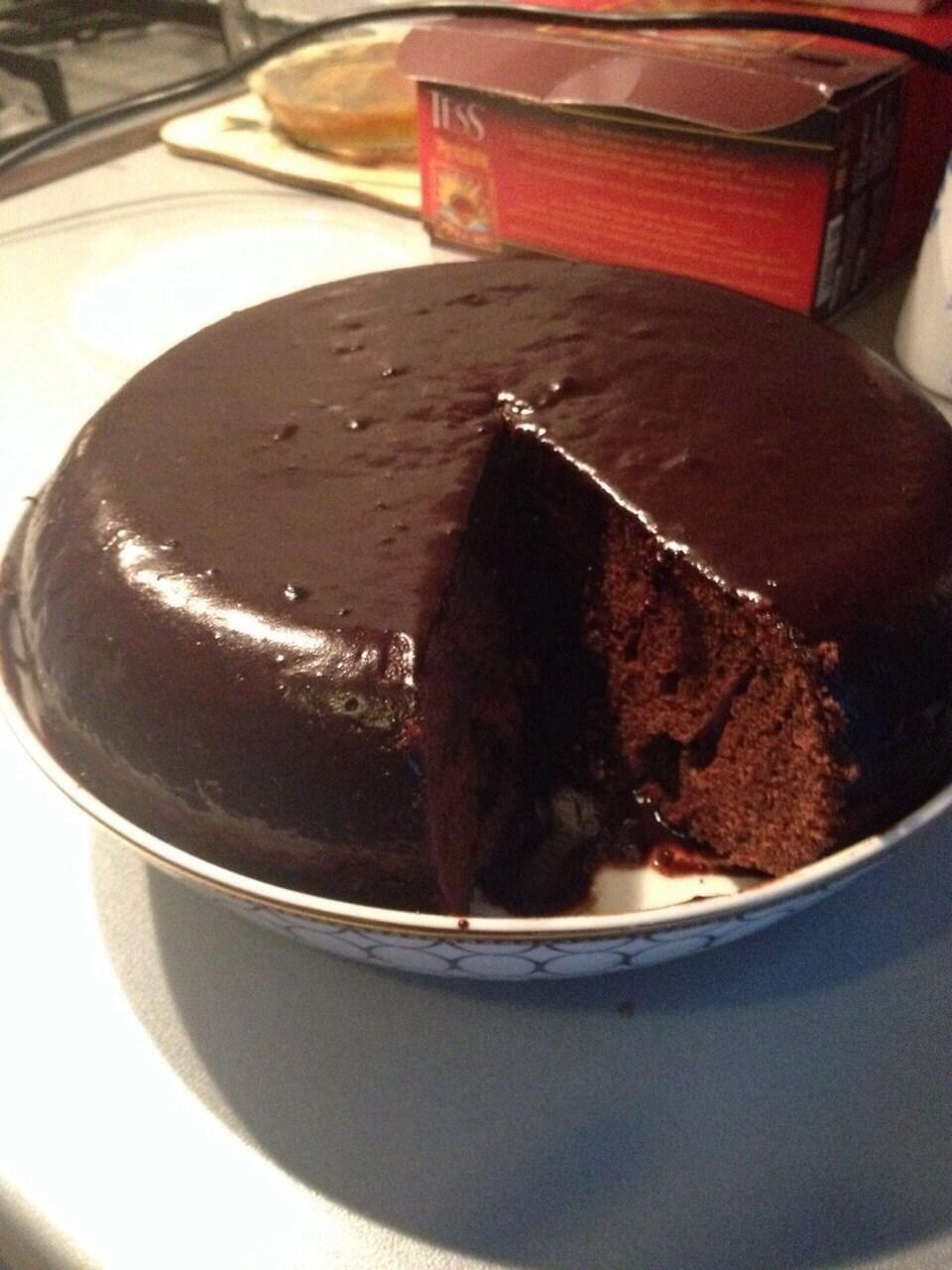 Кекс из шоколадного маслаы с фото