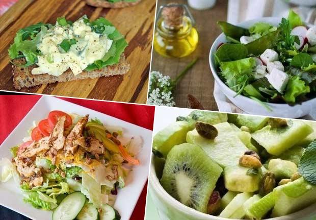 рецепты легкого ужина с фото